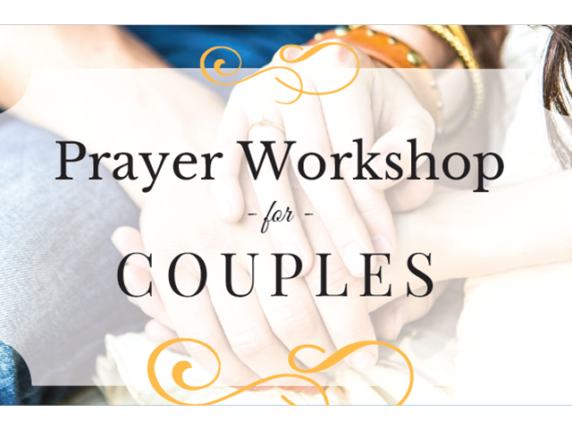 Prayer Workshop for Couples graphic
