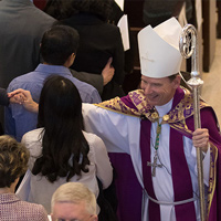 Hispanic Vocations Mass April 2017