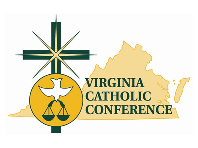 Virginia Catholic Conference seal logo VCC 640 480px