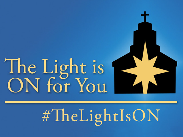 The Light Is On Confession Campaign