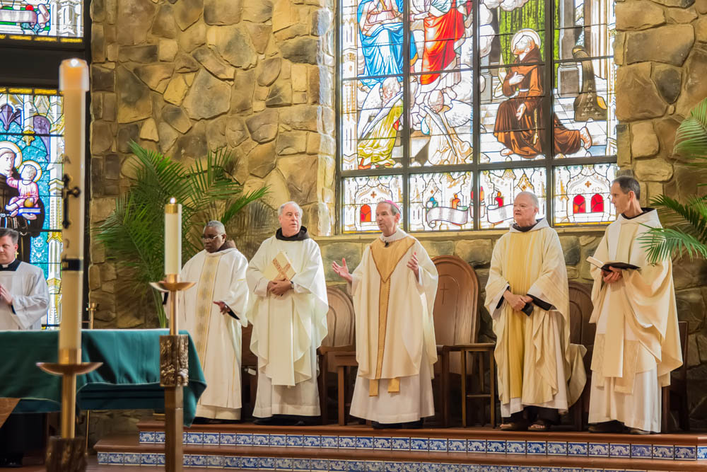 Installation Mass of Father John O'Connor at Saint Francis of Assisi June 10 2017 3