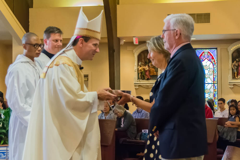 Installation Mass of Father John O'Connor at Saint Francis of Assisi June 10 2017 4