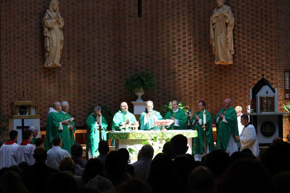 Installation Mass for Father David Meng at Saint Timothy 2017 10