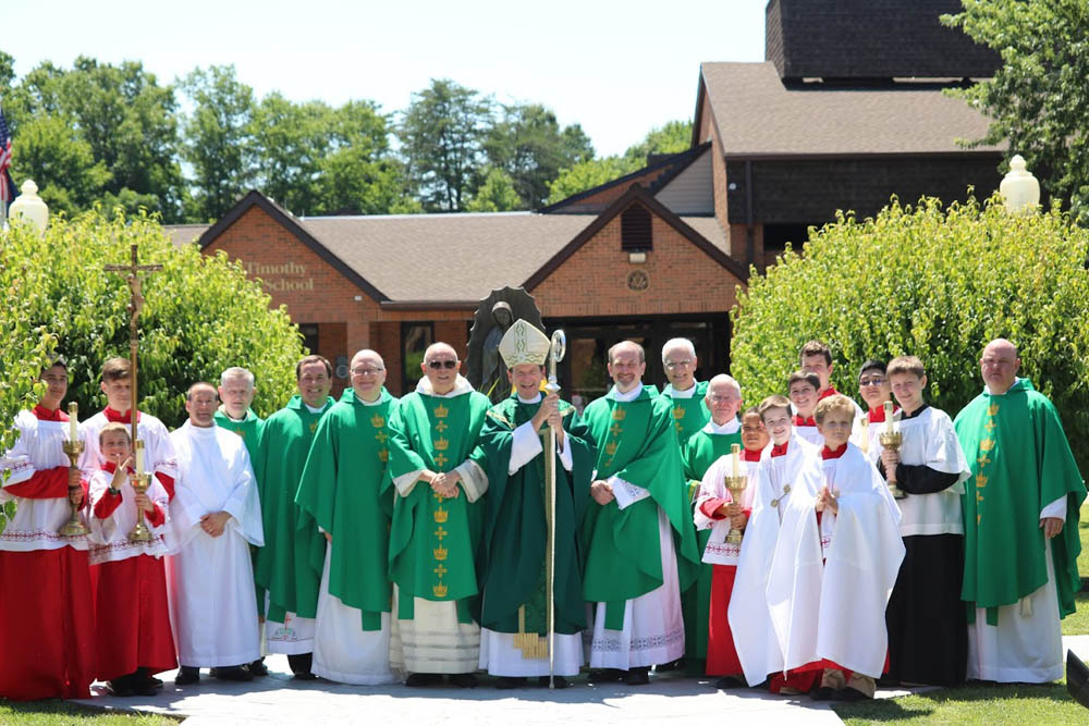 Installation Mass for Father David Meng at Saint Timothy 2017 15