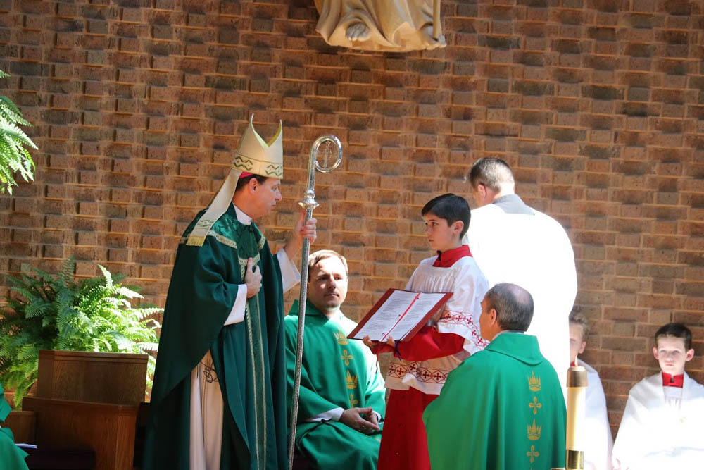 Installation Mass for Father David Meng at Saint Timothy 2017 2