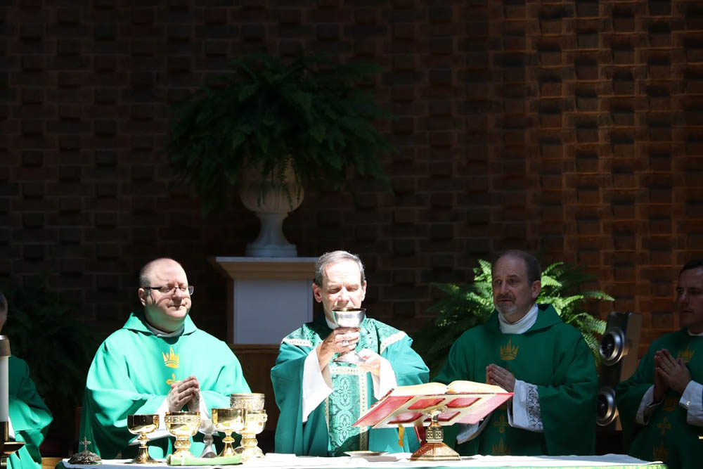 Installation Mass for Father David Meng at Saint Timothy 2017 9
