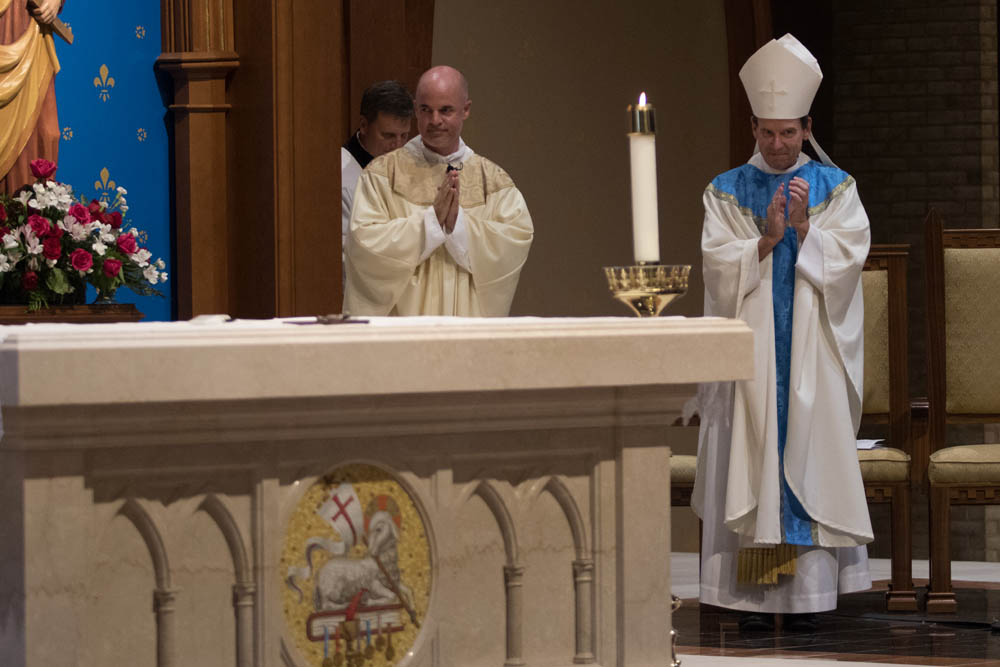 Installation Mass for Fr Keith O'Hare at St Louis Church August 22, 2017 1