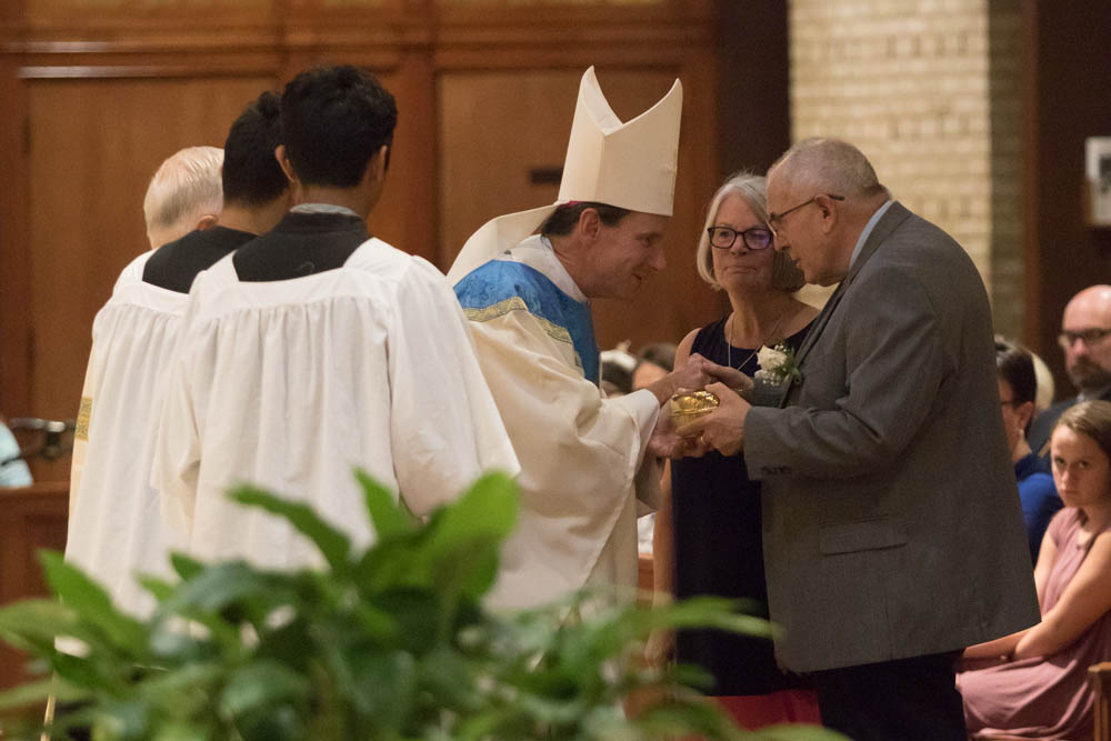 Installation Mass for Fr Keith O'Hare at St Louis Church August 22, 2017 3