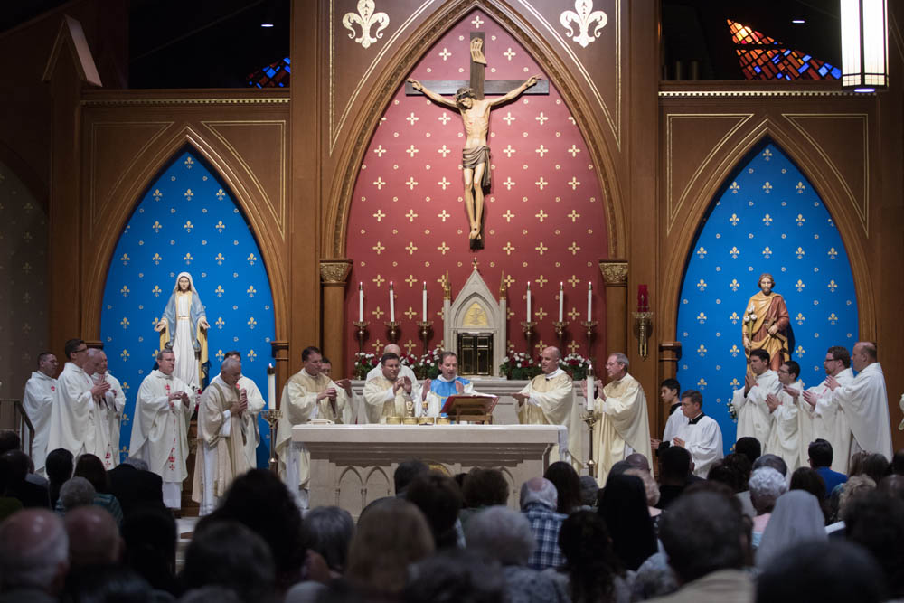 Installation Mass for Fr Keith O'Hare at St Louis Church August 22, 2017 4