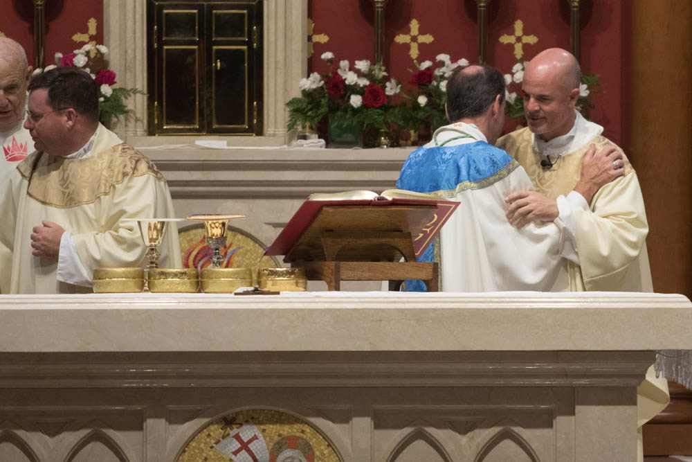 Installation Mass for Fr Keith O'Hare at St Louis Church August 22, 2017 5