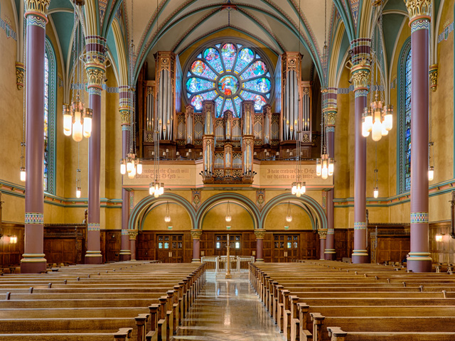 Catholic Church interior