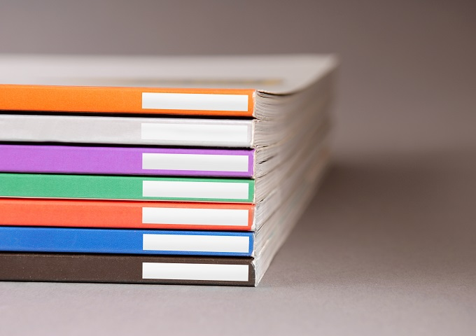 Stack of Bound Books