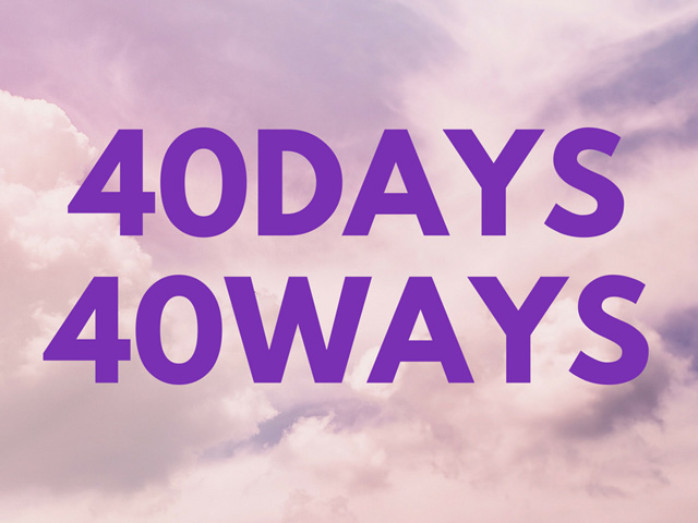 40Days40Ways daily reflections from Pope Francis arlington diocese lenten program