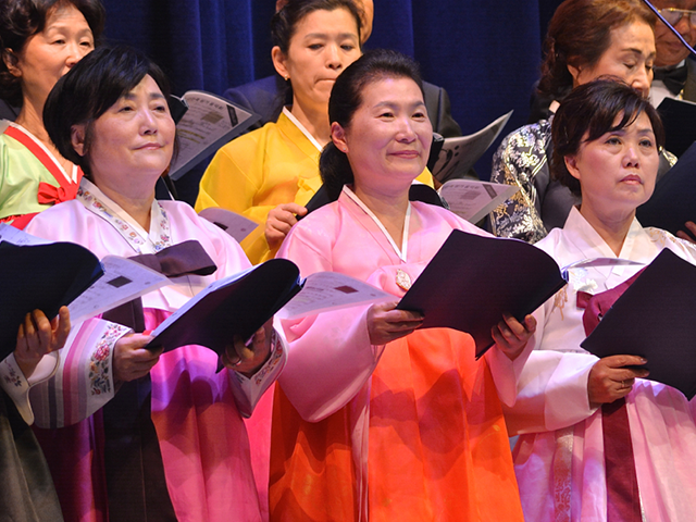 Korean Choir at MCM Choral Concert 2017