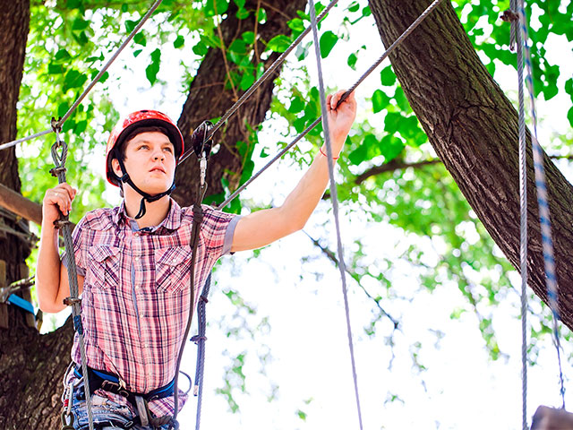 QV Ropes Course event
