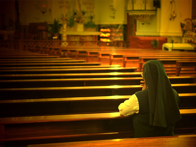 Joining a religious order women