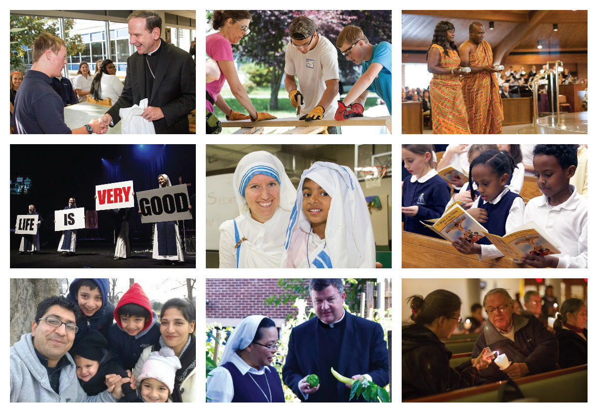 bishops lenten appeal 2017 collage