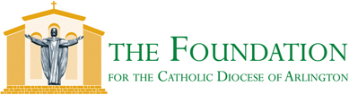 The Foundation for the Arlington Diocese banner