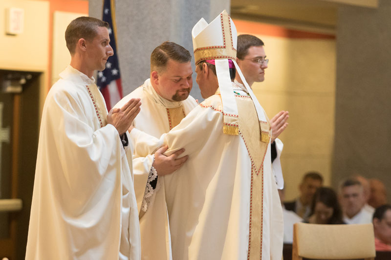 2017 Priesthood Ordinations Kiss of Peace
