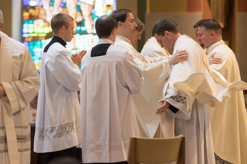 2017 Priesthood Ordinations Vesting of new priests