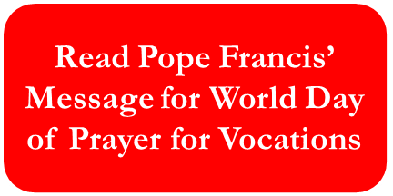 Button World Day of Prayer for Voc message
