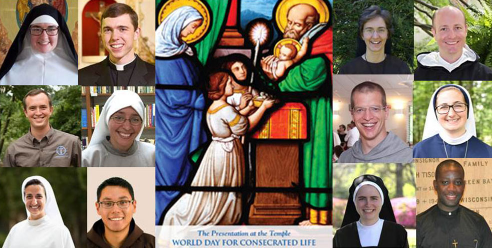 World Day for Consecrated Life banner